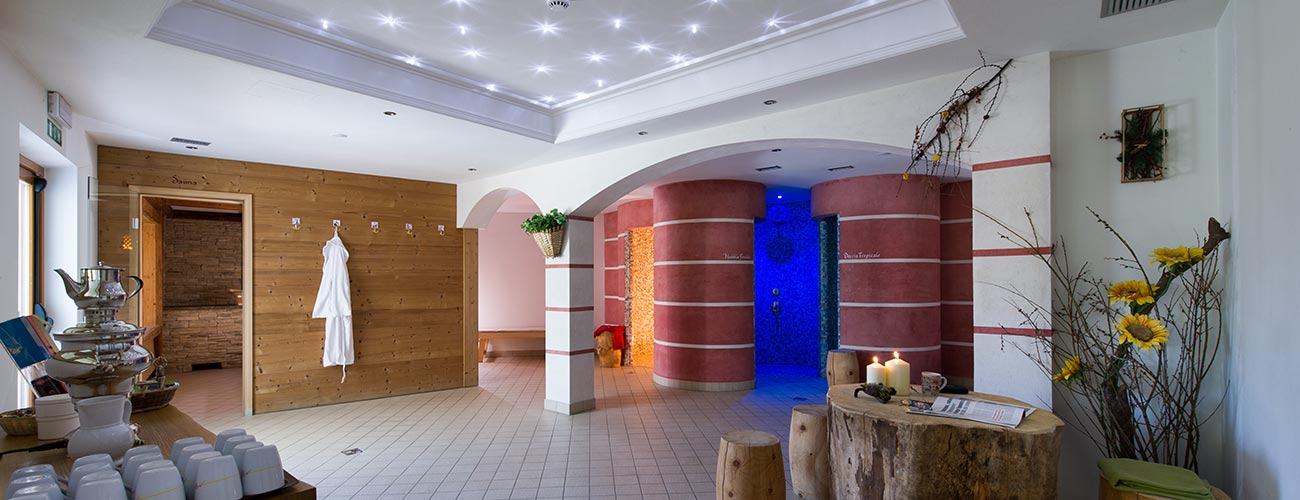 Spa area of the Hotel Gran Mugon